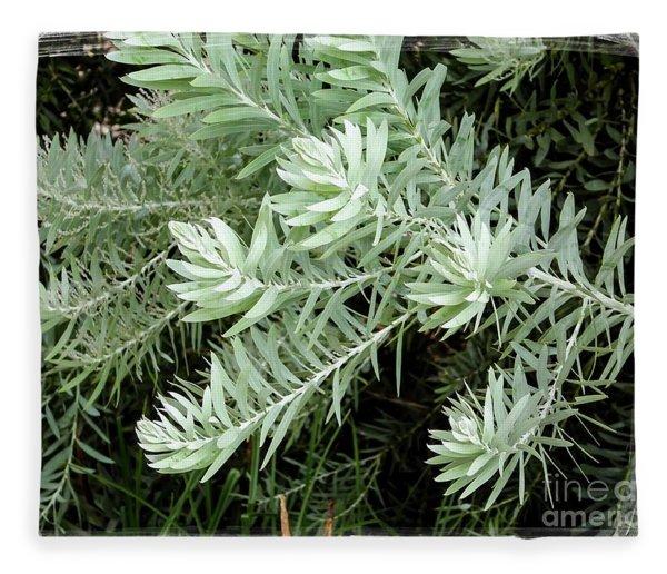 Gentle Leaves Fleece Blanket