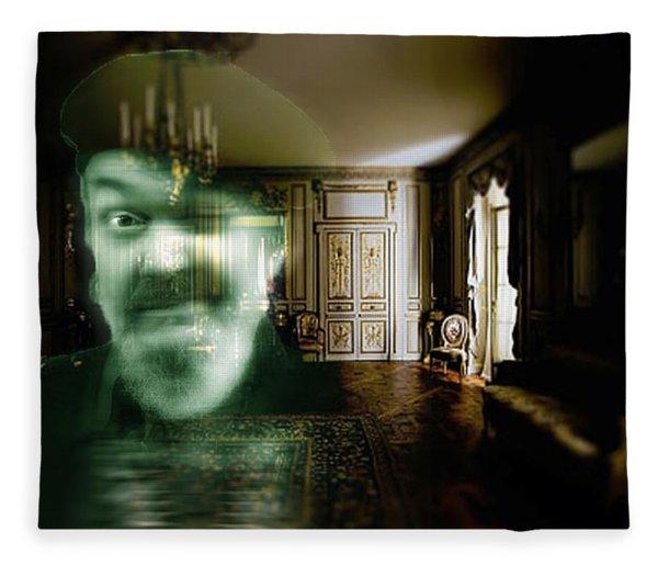 Ghost Of Dr. John Fleece Blanket