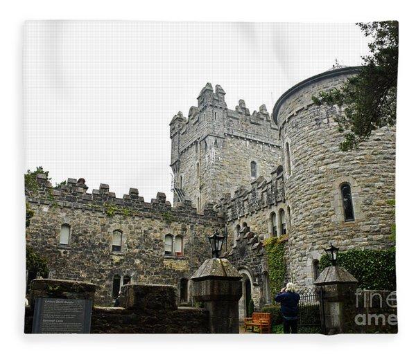 Glenveagh Castle Front Fleece Blanket