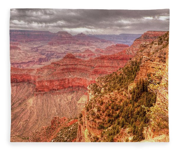 Grand Canyon, #1 Fleece Blanket