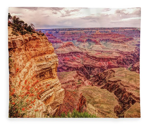 Grand Canyon, #3 Fleece Blanket