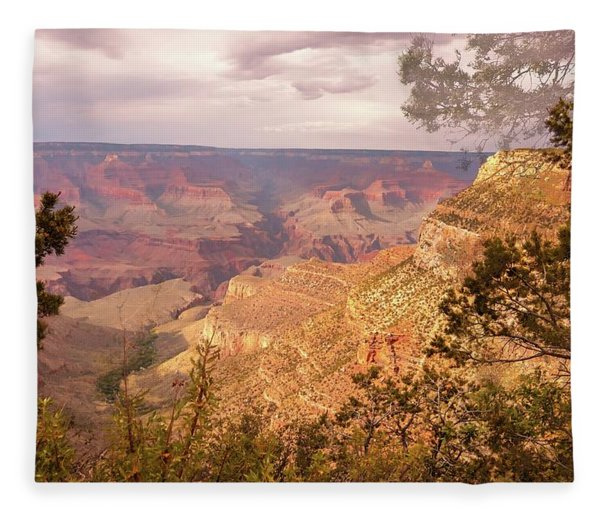 Grand Canyon, #5 Fleece Blanket