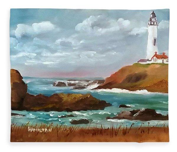 Grand Lighthouse Fleece Blanket