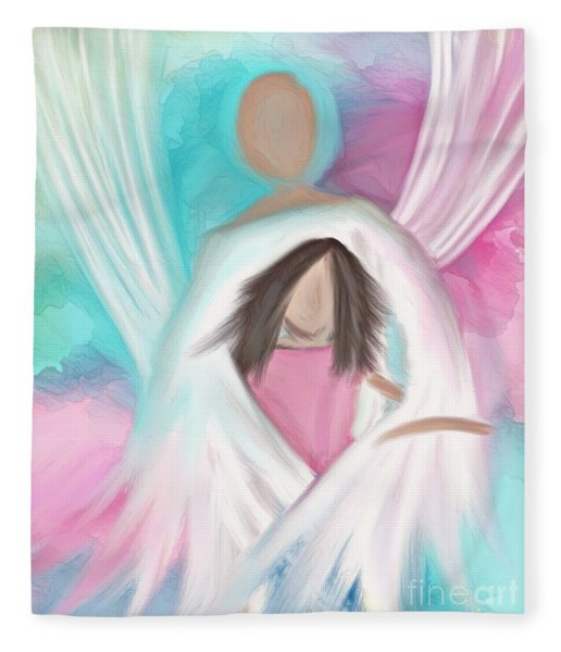 Guardian Angel Fleece Blanket