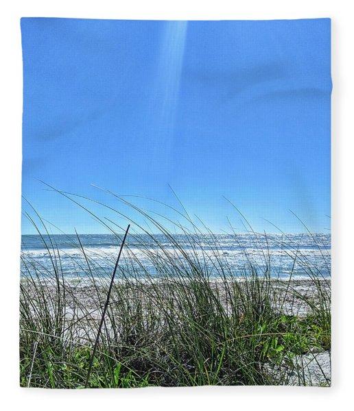 Gulf Breeze Fleece Blanket