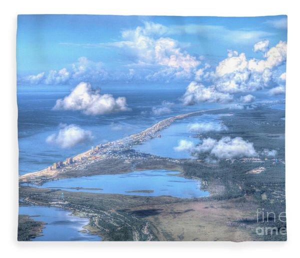 Gulf Shores-5094-tm Fleece Blanket