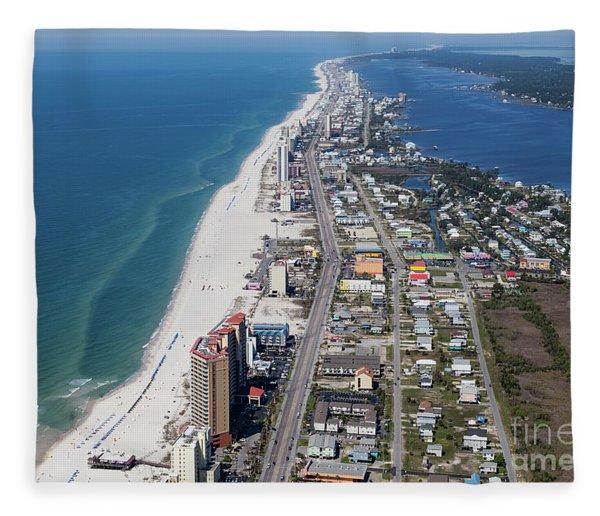 Gulf Shores 7124n Fleece Blanket