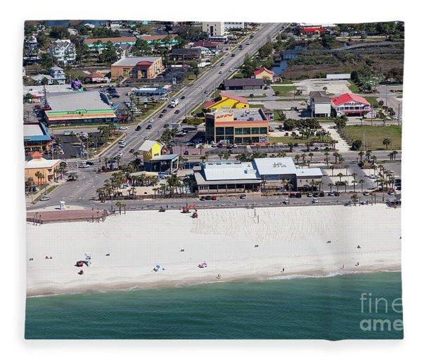 Gulf Shores Beach 7139 Fleece Blanket