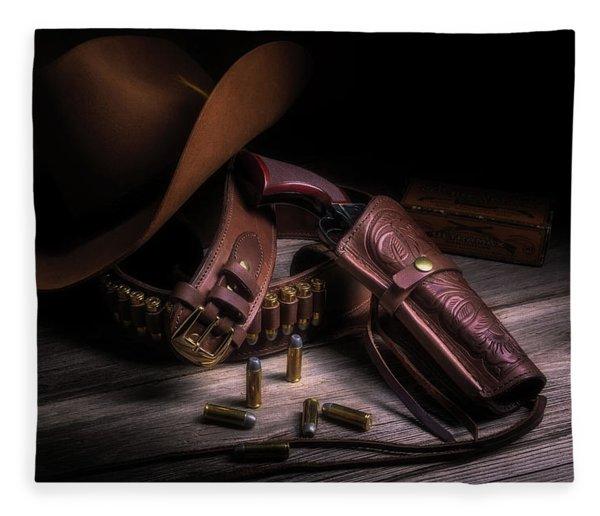 Gunslinger Fleece Blanket