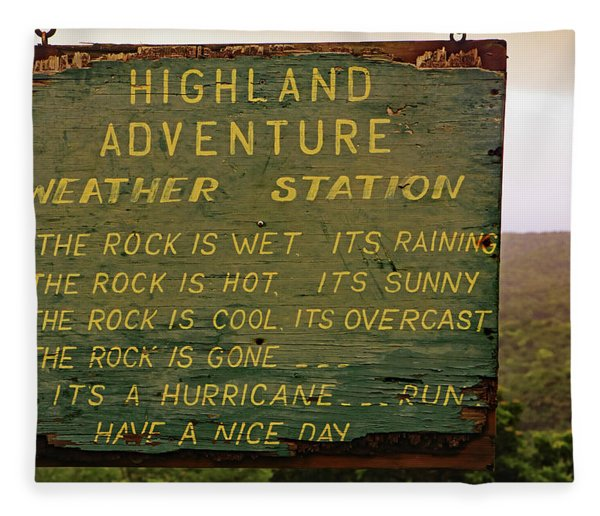 Highland Adventure Fleece Blanket