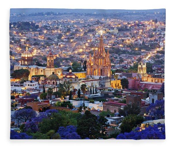 San Miguel De Allende Fleece Blankets Pixels