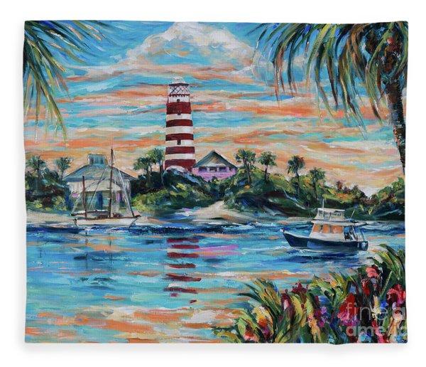 Hopetown Paradise Fleece Blanket