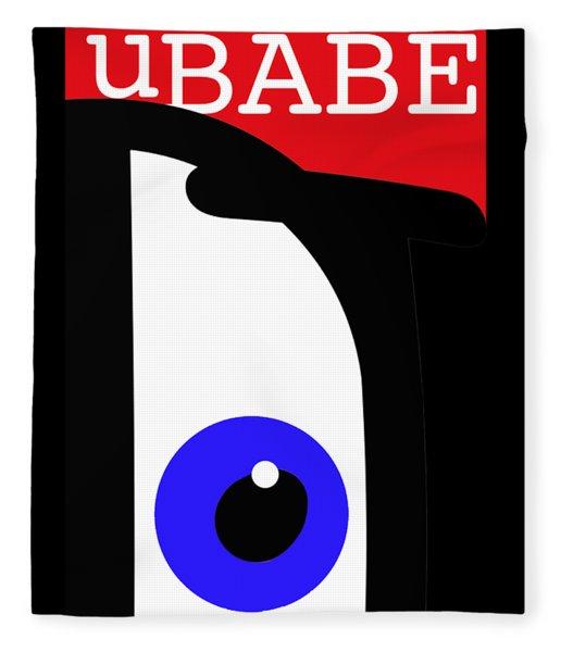 I See Ubabe Fleece Blanket