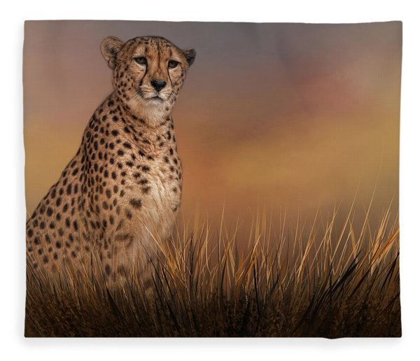 In The Brush Fleece Blanket