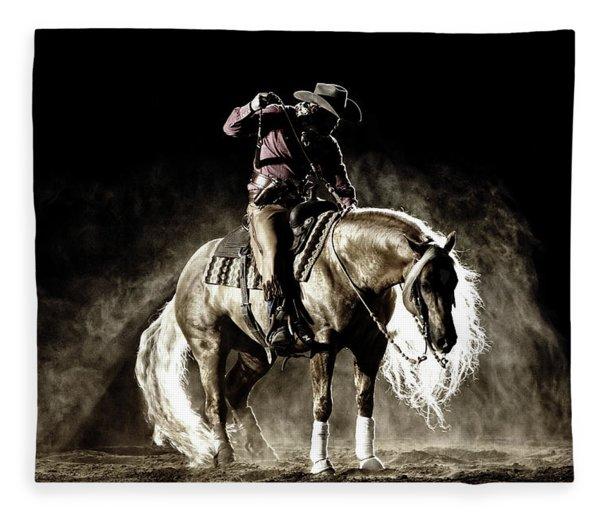 In The Still Of Light Fleece Blanket