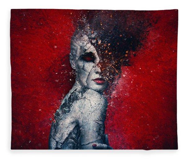 Indifference Fleece Blanket