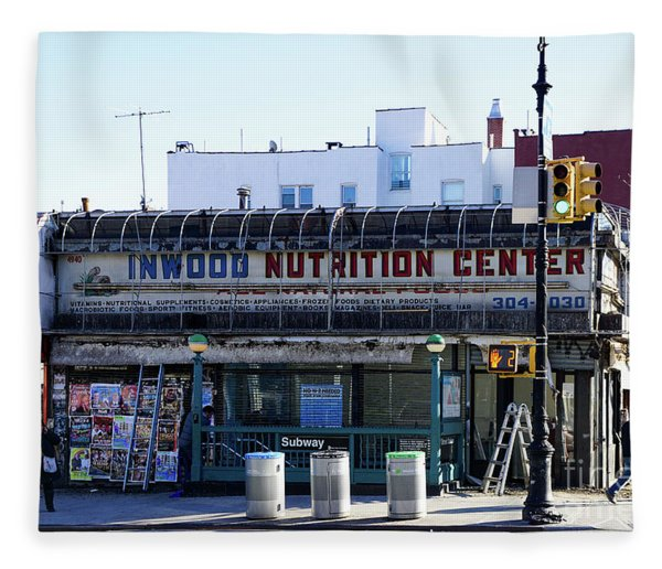 Inwood Nutrition Center Fleece Blanket