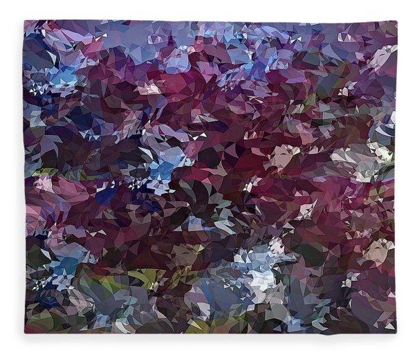 It's Lilac Fleece Blanket