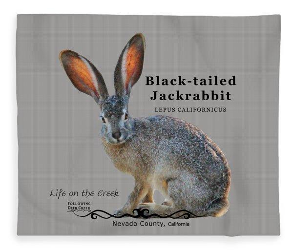 Jackrabbit Fleece Blanket