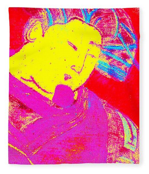 Japanese Pop Art Print 9 Fleece Blanket