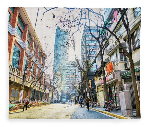 Jing An Fleece Blanket