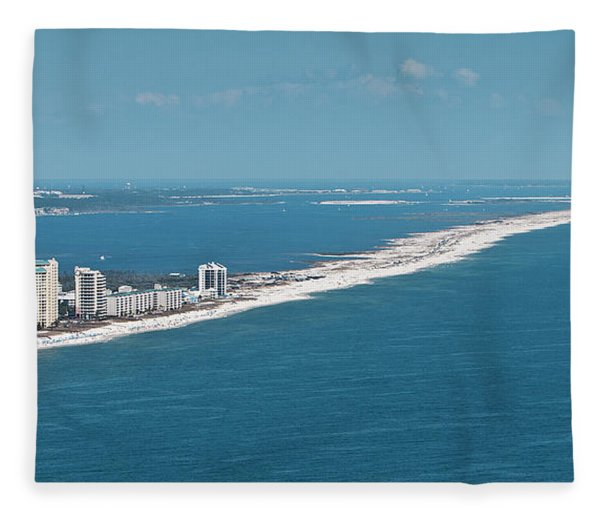 Johnson Beach Fleece Blanket