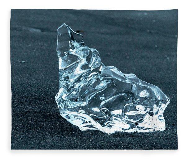 Jokulsarlon Diamond Fleece Blanket