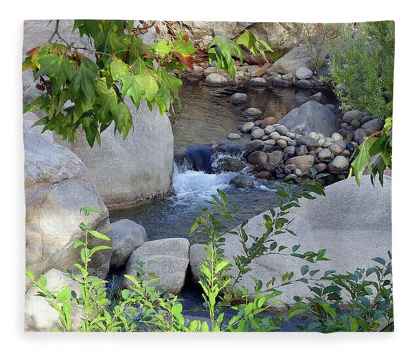 Kaweah River Fleece Blanket