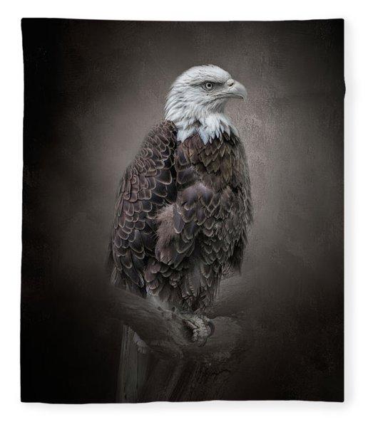 Keeping Watch Fleece Blanket
