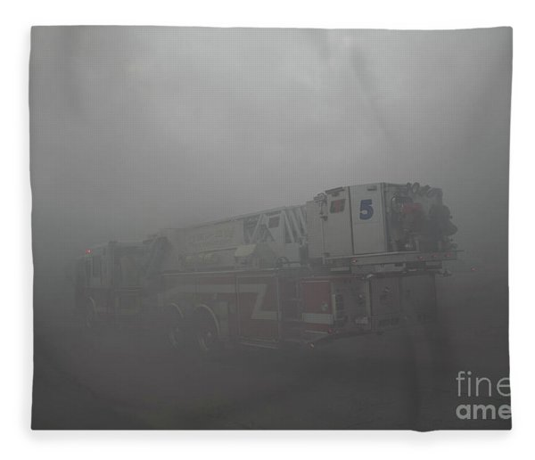 Ladder 5 At A Worker Fleece Blanket