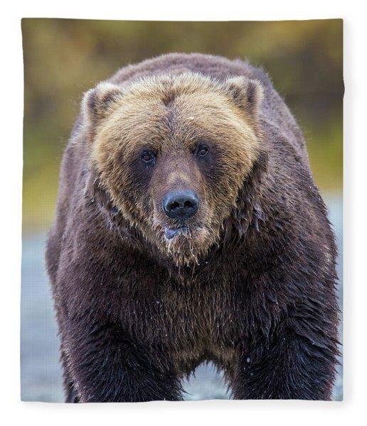 Lazy C  Fleece Blanket