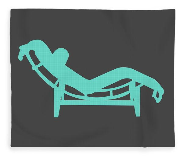 Le Corbusier Chaise Lounge Chair I Fleece Blanket