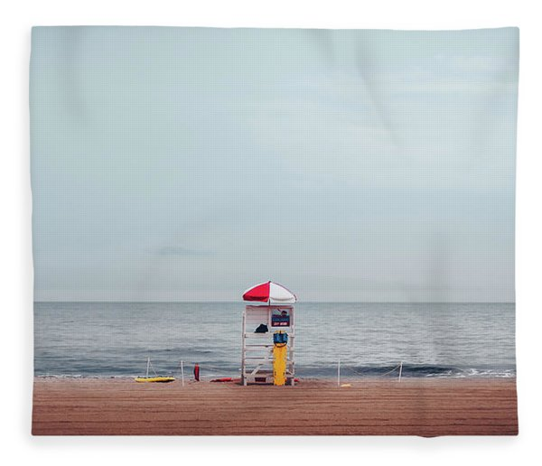 Lifeguard Stand Fleece Blanket
