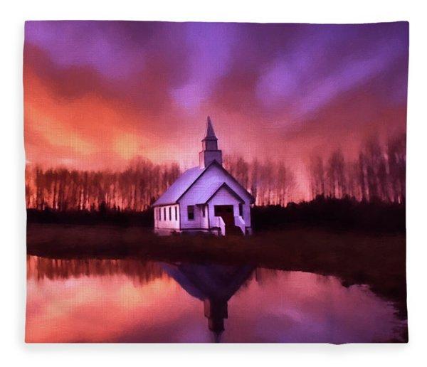Light In The Dark - Hope Valley Art Fleece Blanket