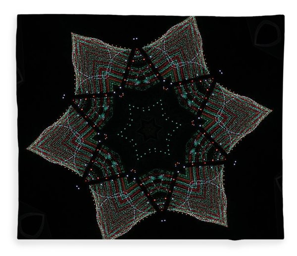 Lights Within A Star Fleece Blanket