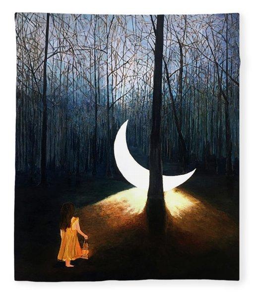 L'il Luna Fleece Blanket