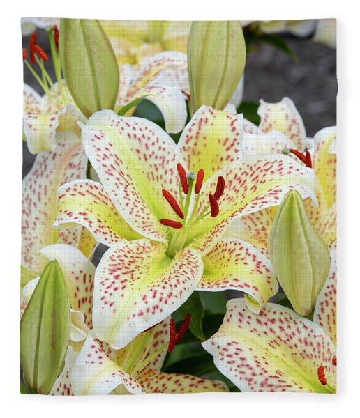 Lilium Tigermoon Fleece Blanket