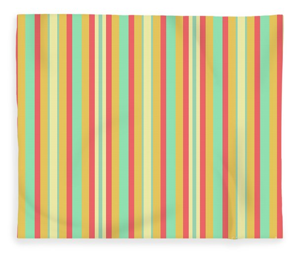 Lines Or Stripes Vintage Or Retro Color Background - Dde589 Fleece Blanket