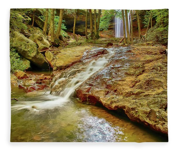 Long Falls Fleece Blanket