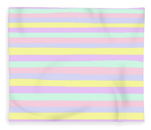 lumpy or bumpy lines abstract - QAB283 Fleece Blanket