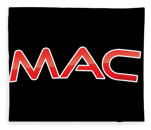 Mac Fleece Blanket