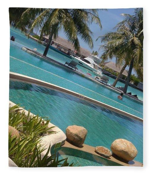 Maldivies Fleece Blanket
