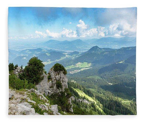 Mannlsteig, Berchtesgadener Land Fleece Blanket