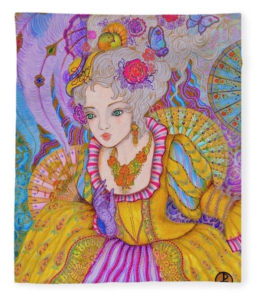 Marie Antinette Fleece Blanket