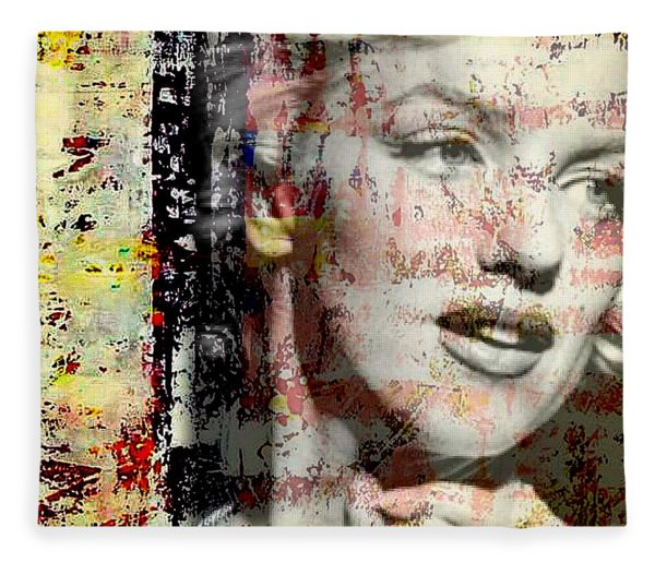 Marilyn Monroe 2 Fleece Blanket