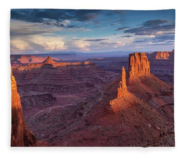Marlboro Point - A Different View Fleece Blanket