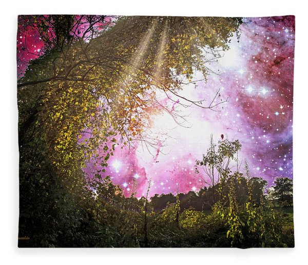Meadow Starry Night Fleece Blanket