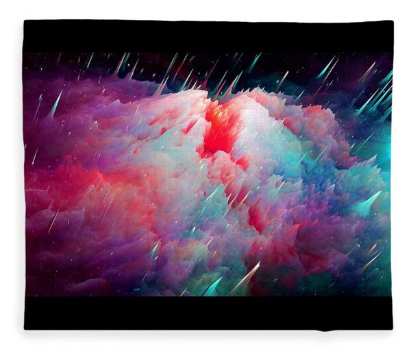 Meteor Fleece Blanket
