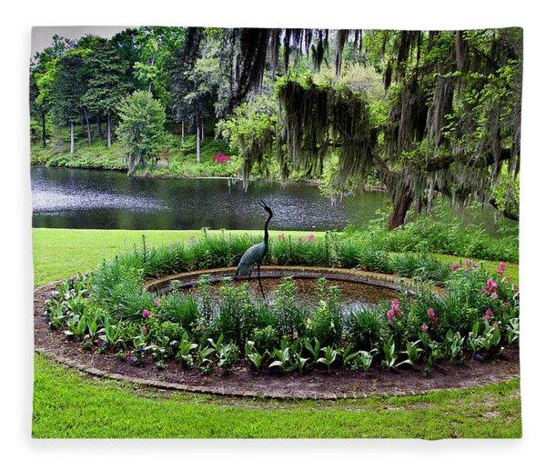 Middleton Gardens Mill Pond Fleece Blanket