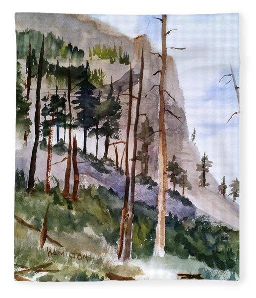 Mill Creek Canyon Fleece Blanket